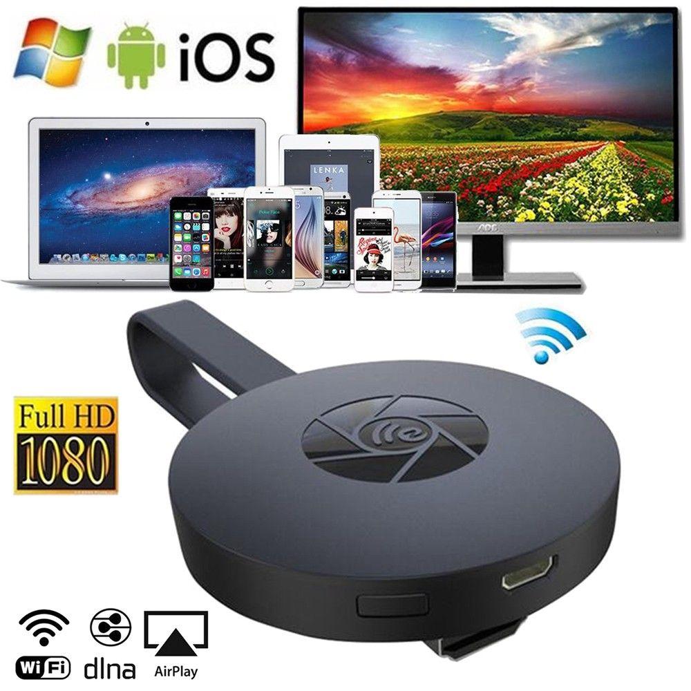 MiraScreen G2 TV Stick Wireless Dongle Miracast Airplay DLNA WiFi 1080P HD Media