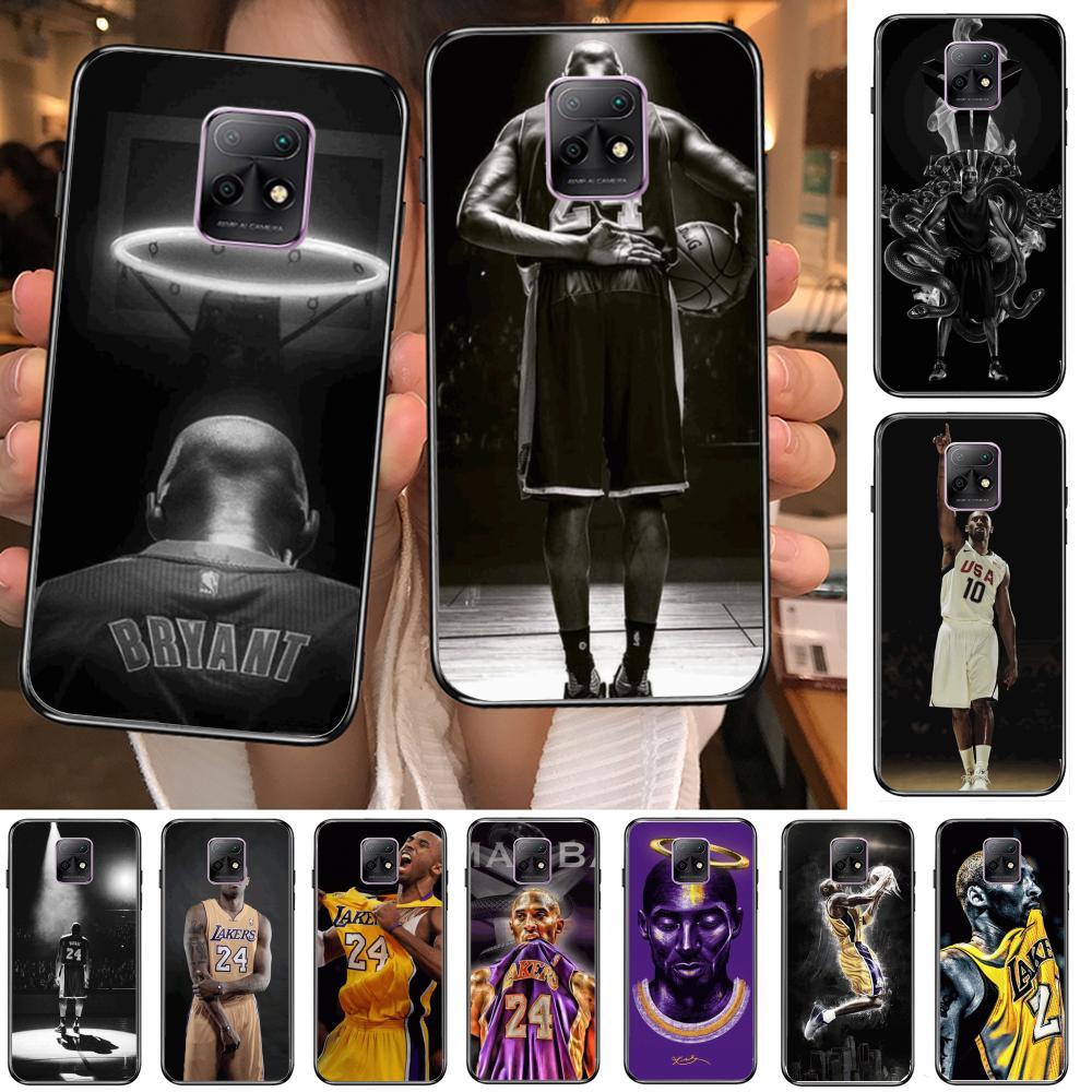 Баскетбол K-Коби нет. 24 чехол для телефона XiaoMi Redmi 10X 9 8 7 6 5 Pro S2 K20 T 5G Y1 Аниме Черная Крышка силиконовая задняя крышка-довольно