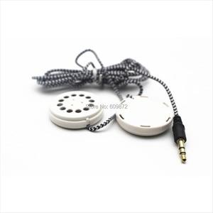 Image 3 - Linhuipad Pillow & Hat Dual Speakers Braided Earbud Headphones Flat Headband Earphones 3.5mm stereo plug