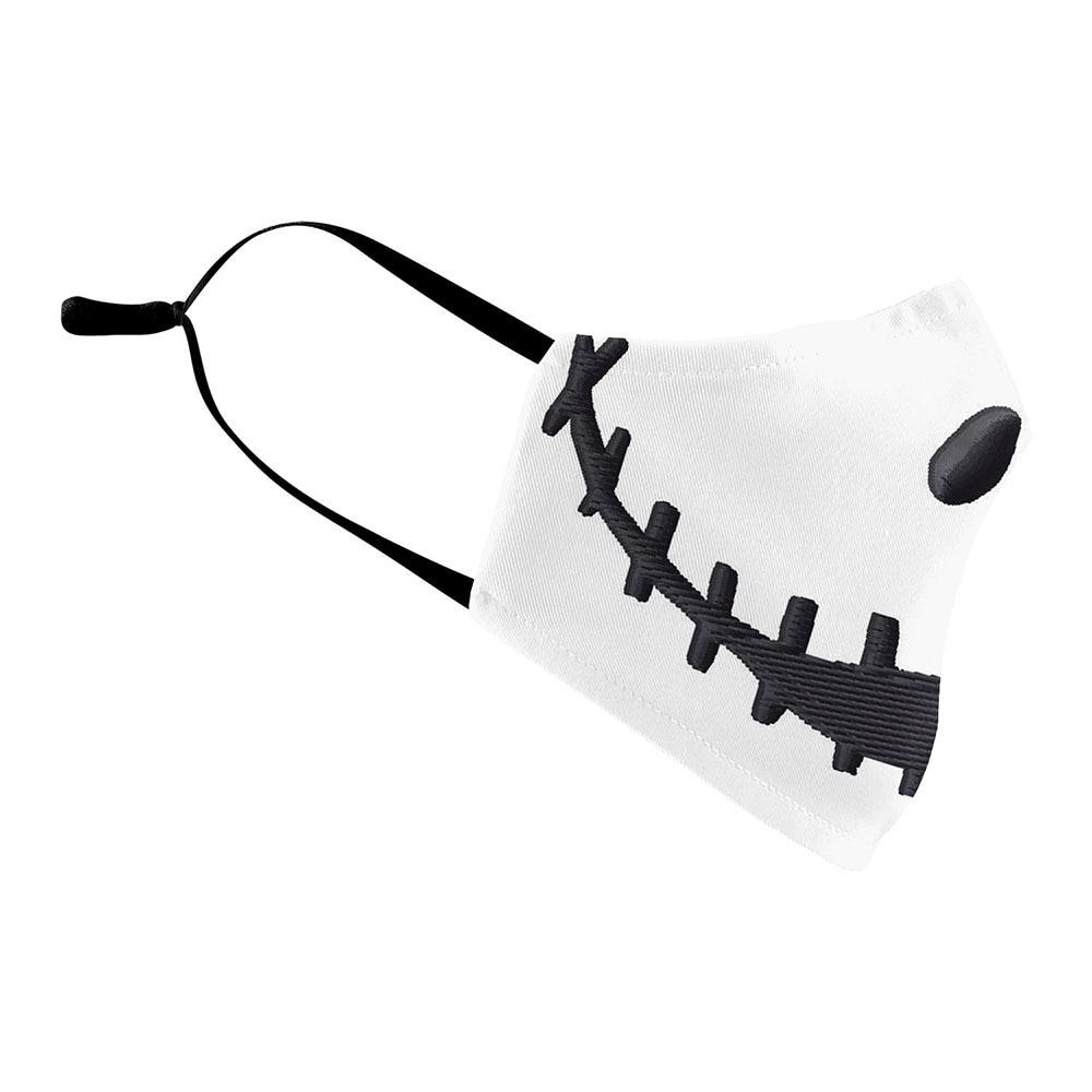 The Nightmare Before Christmas Jack Skellington Face Mask Adult Halloween Cosplay Costume Men Props 2