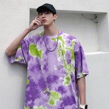 цена 2019 Summer Wear Man Tee Printing Round Neck Short Sleeve T Pity Rendering Unlined Upper Garment T2153 /p40