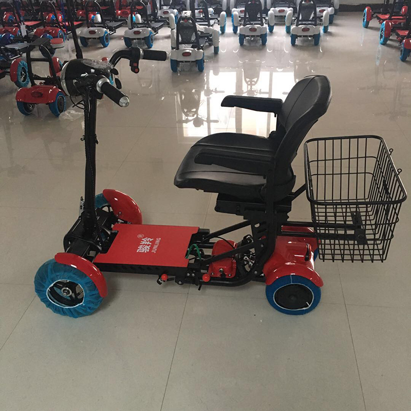 Foldable Electric Bike Folding Scooter Exclusive Design Golf Carts And Adults Convenient For Carrying Out And Put Into Cars