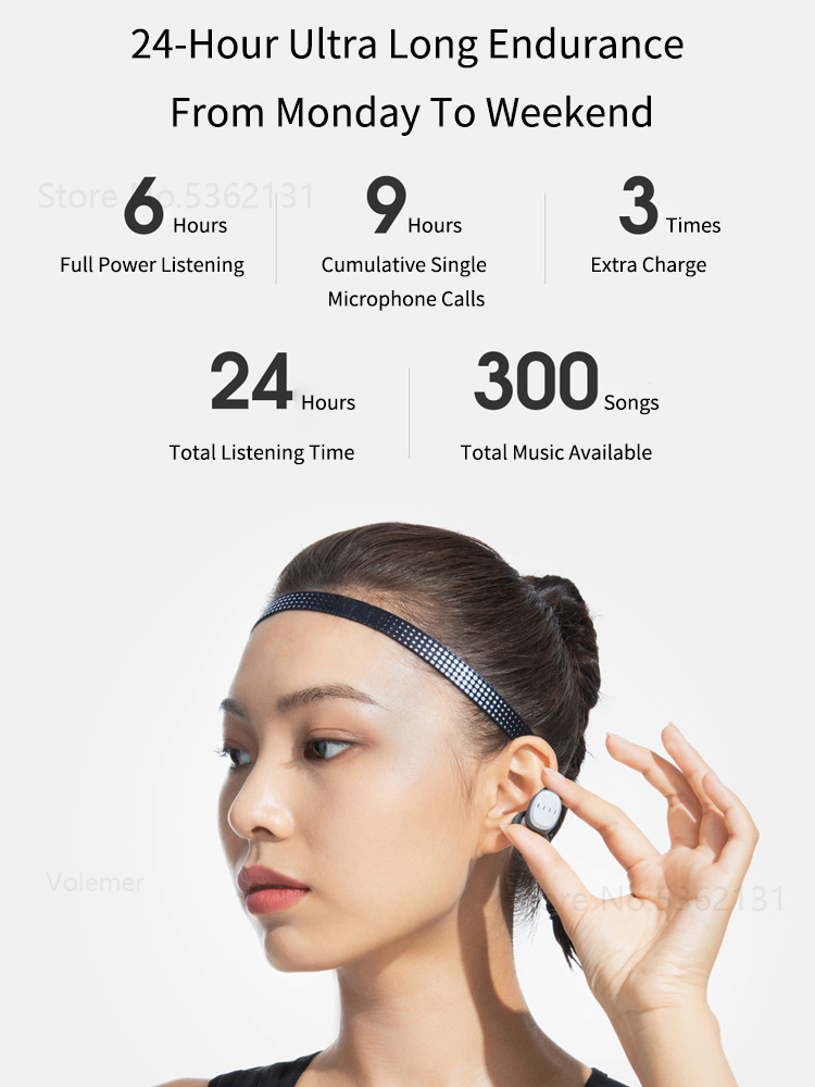 Youpin FIIL T1XS Wireless Sport Bluetooth Earphones Waterproof Headset Noise Reduction Touch Control For Android iphone Huawei