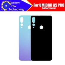 Umidigi a5 pro 배터리 커버 100% 오리지널 내구성 백 케이스 umidigi a5 pro 용 휴대 전화 액세서리