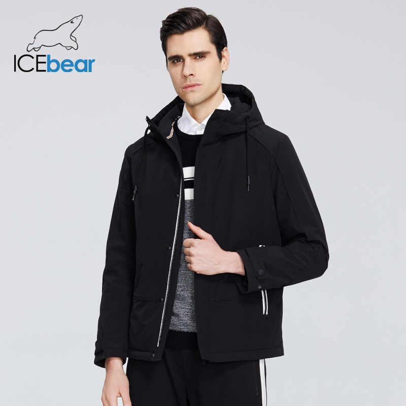 ICEbear 2020 חדש גברים של מעיל מעיל עם ברדס גבוהה-איכות גברים של מעיל MWC20802D