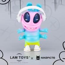 Игрушки POP MARTs HugtheK land, кукла-сюрприз, искусственная мини-фигурка, подарок на день рождения, детская девочка, аниме игрушка DC