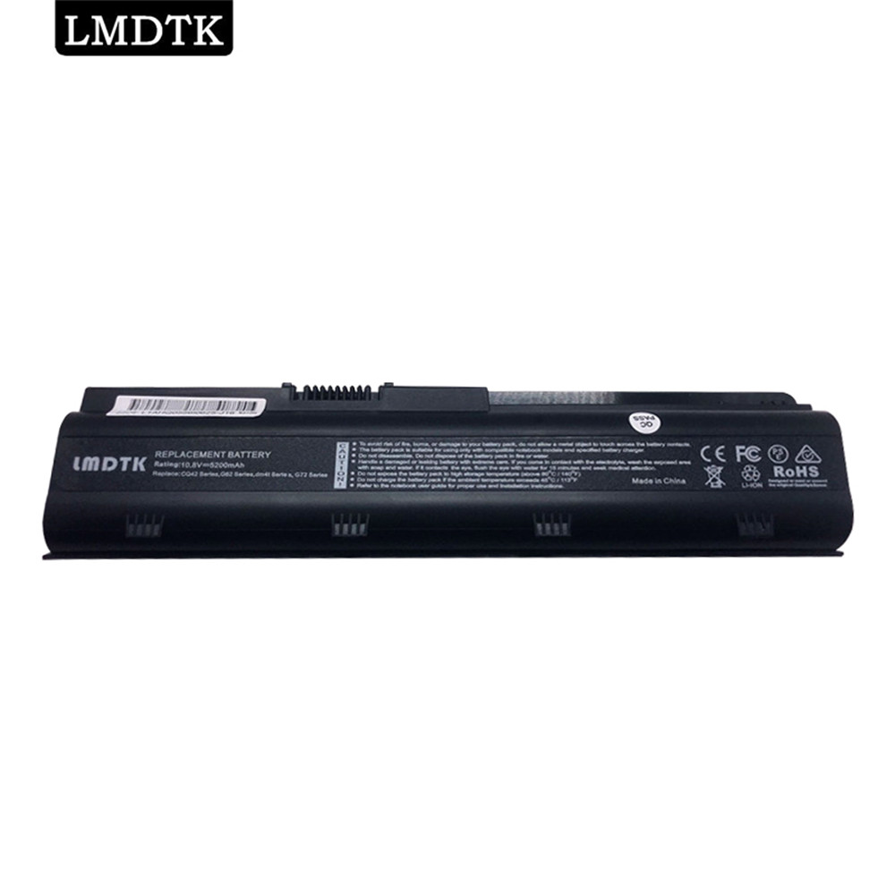 LMDTK New 6cells Laptop <font><b>Battery</b></font> For HP Pavilion dm4 G4 G6 G7 CQ42 CQ56 <font><b>CQ62</b></font> G32 G42 G56 G62 G72 dm4-1000 dm4t MU06 MU09 MU09XL image
