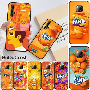 Fanta Drink Orange DIY Printing Phone Case For Huawei Honor 8X 9 10 20 Lite 7A 8A 5A 7C 10i 20i 9X Play 8C image