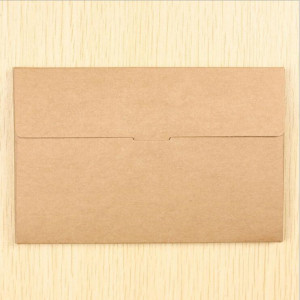 Image 2 - 50PCS/lot Vintage Hollow Design Black / White / Brown Kraft Paper Envelope Postcard Boxes Greeting Photo Post Card Package Bag