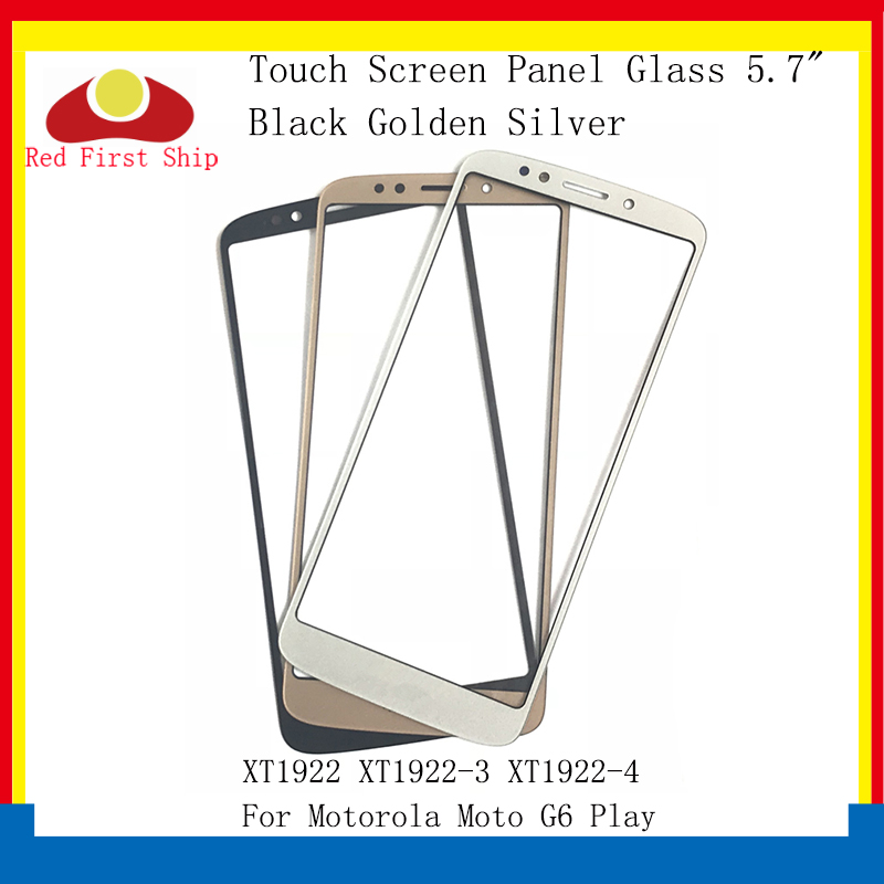 10Pcs lot Touch Screen For Motorola Moto G6 Play XT1922 XT1922 3 XT1922 4 Touch Panel Front Outer LCD Glass Lens G6Play in Mobile Phone Touch Panel from Cellphones Telecommunications