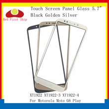10Pcs/lot Touch Screen For Motorola Moto G6 Play XT1922 XT1922-3 XT1922-4 Panel Front Outer LCD Glass Lens G6Play