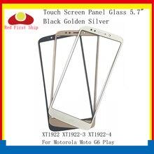 10Pcs/lot Touch Screen For Motorola Moto G6 Play XT1922 XT1922-3 XT1922-4 Touch Panel Front Outer LCD Glass Lens G6Play 100% tested lcd screen for motorola moto e5 g6 play xt1922 xt1922 3 lcd display with touch screen assembly