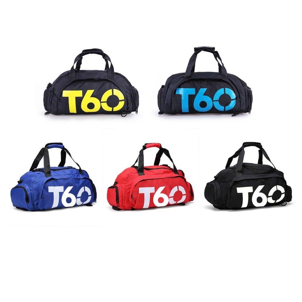 Bolso impermeable de los deportes del gimnasio mochilas de entrenamiento al aire libre multifuncional equipaje de viaje bolso de hombro para hombres y mujeres