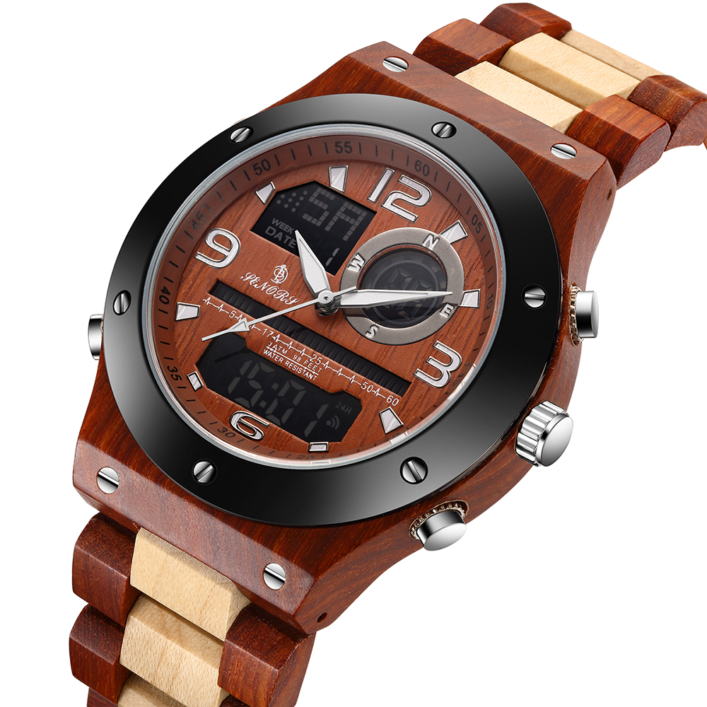 שעון עץ איכותי SENORS 4