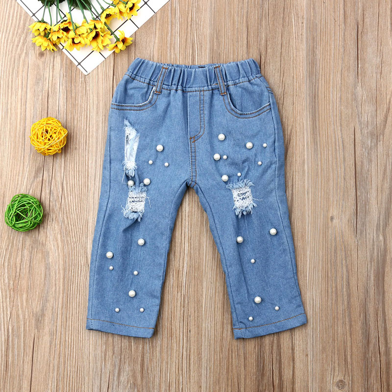 Girls Casual Jeans (3T-7T)
