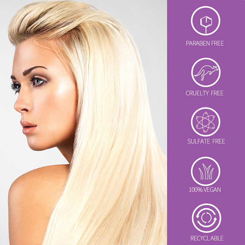 Beauty Purple Shampoo For Blonde Hair Pro Revitalize Blonde Bleached Highlighted Shampoo image