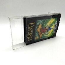 Kolekcja wyświetlacz pudełko do przechowywania pudełko ochronne do gry Sega mega drive MD Sega Genesis