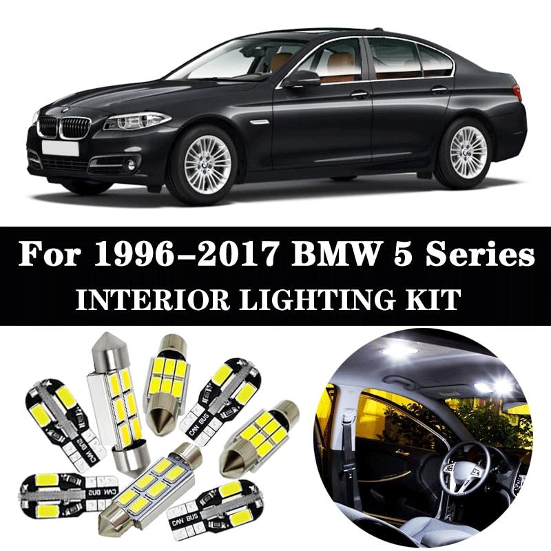 20 Xenon SMD White LED Interior Light Package Kit For BMW 5-Series E60 E61 04-10
