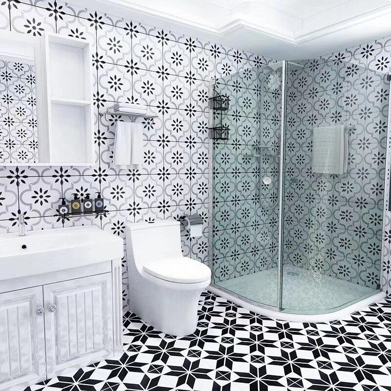 White Tile Bathroom Kitchen Wall