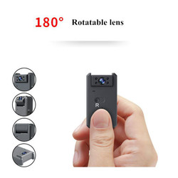 4K Mini WiFi Camera Magnetic HD 1080P/720P Video Audio Recorder Night Vision Motion Sensor Camcorder Nanny Rotated Micro Cam
