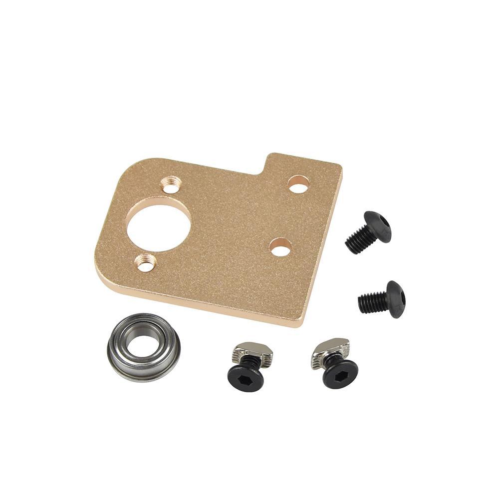 1pcs 3D printer T8 lead screw aluminum block alloy Z-axis fixing bracket mount screw for I3 model 3D