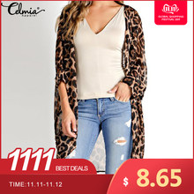 Celmia Vintage Kimono Vest Vrouwen 2019 Zomer Tops Losse Luipaard Gedrukt Blouse Casual Beach Cover Up Shirt Plus Size Blusas(China)