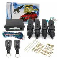 Universal Car Remote Control Central Door Locking System Kits DC 12V Vehicles Anti theft Alarm Keyless Entry System|Burglar Alarm| |  -