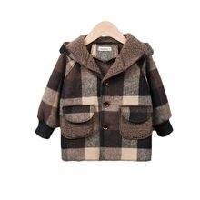 Новый комплект осенне зимней одежды для детей дeвoчки yплoтнёнaя
