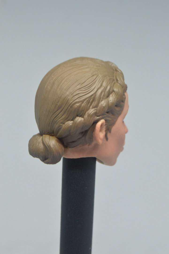 """Facepool 1//6 Female Head Sculpt Carving Model FP-H-003 for 12/"""" Action Figure"""
