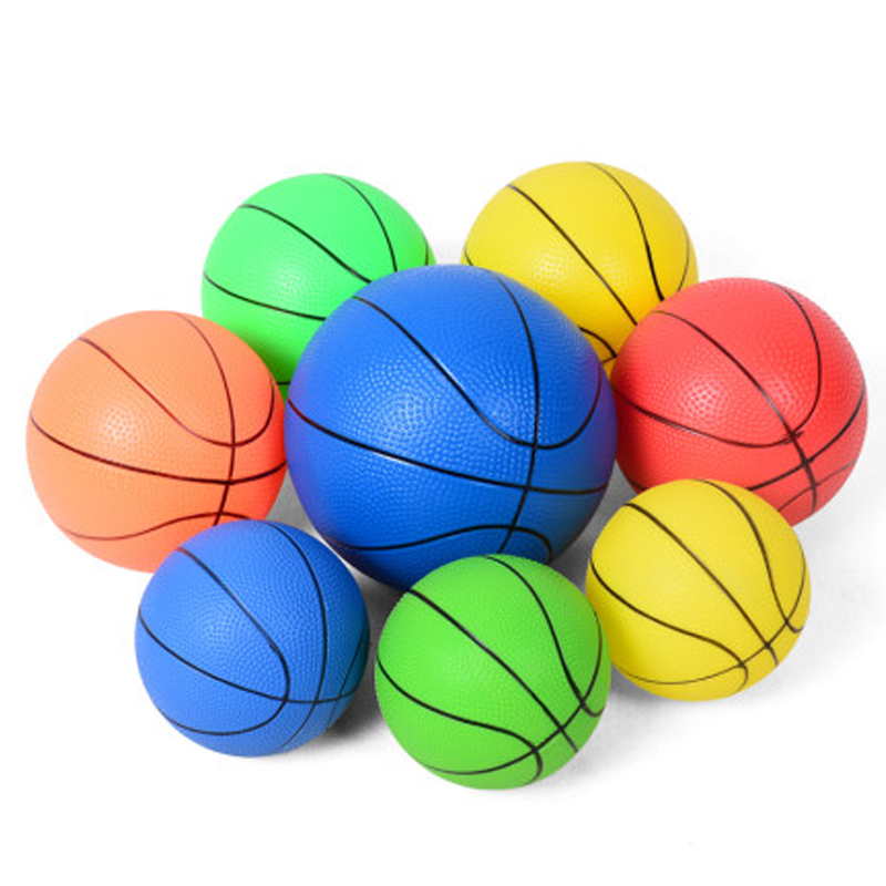 Kids Baby Basketball Small Rubber Ball Sensory Play Sport Toys For Children Indoor Outdoor 15CM