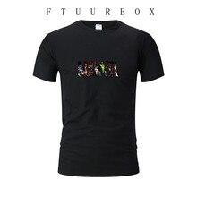 Брендовая модная Новая летняя футболка Мужская Чудо Мститель с коротким рукавом Одежда для тренировок Мужская футболка спортивная одежда