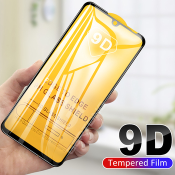 10PCS 9D Full Cover Screen Protector Tempered Glass for Xiaomi Redmi Note 5 6 7 8 Pro Protective Glass for Redmi 6A 7A 8A