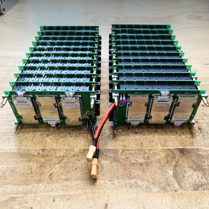 29.4V 7s  Power Wall Project 18650 Battery Pack 7S Bms Li-ion Lithium 18650 Battery Holder PCB DIY Ebike Electric Vehicles Power