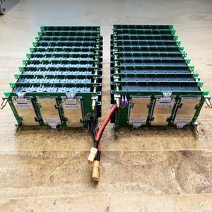Image 1 - Panel Solar de almacenamiento para bicicleta eléctrica, cargador de batería de 29,4 V, 7s, BMS, Li ion, 18650, HolderPCB, bricolaje, Panel de alimentación