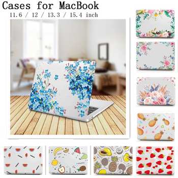 New Laptop Sleeve Case For Apple Macbook 13.3 inch Cover For Macbook Air Pro 11 12 13 15 Retina With Touch Bar Flower Fruit Case huevm leather sleeve bag stand cover for apple macbook air retina 11 12 13 15 laptop case for new pro 13 3 inch air 13 3 inch