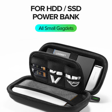 Чехол для внешнего аккумулятора Ugreen, чехол для жесткого диска 2,5 дюйма, USB-кабель, чехол для внешнего хранилища, чехол для SSD, HDD
