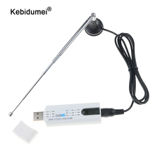 kebidumei Digital DVB T2 TV Stick Tuner with Antenna Remote Control USB2.0 HDTV Receiver for DVB T2 / DVB C / FM / DAB For PC