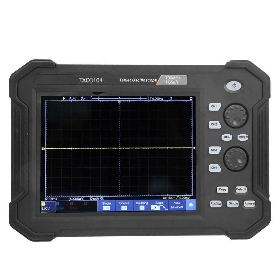toque digital tablet osciloscópios kit