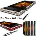 Pour Sony Xperia XA1 Ultra boîtier d'origine en alliage d'aluminium pare-chocs en métal pour Sony XA1 Ultra cadre en métal G3226 G3212 G3223 G3221 6