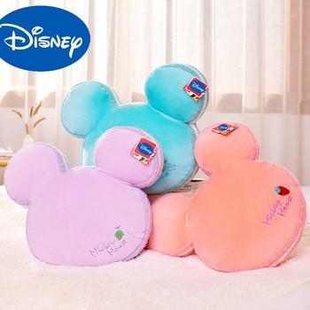 цена на Original 38cm Disney Mickey Mouse Plush Doll Toy Kawaii Minnie Stuffed Doll Cartoon Pillow Toy Gift For Kids Baby Children Free