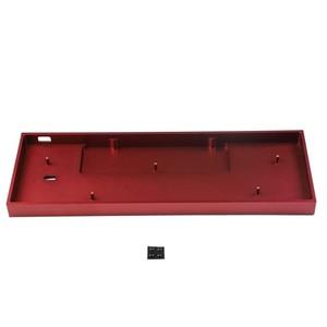 Image 3 - Idobao cnc アンのためのプロ 2 ミニポータブル 60% メカニカルキーボード陽極酸化アルミ足ネジシルバーグレー赤、黒