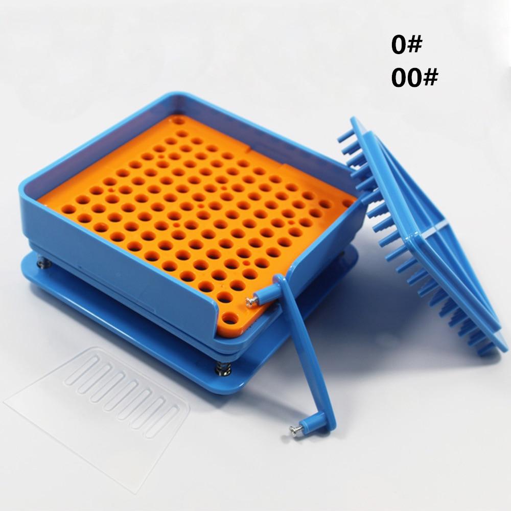 1pcs 100 Holes Capsule Filling Machine Capsule Filler Plate 00# 0#