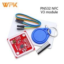 Pn532 nfc rfid v3 perto de campo módulo de comunicação sem fio suporta comunicação com telefones android