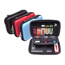 Travel Bag Cable Organizer Case 2.5-inch EVA Digital Storage Box Mobile Hard Drive Gadgets USB Headphones Wires Power Bank Case
