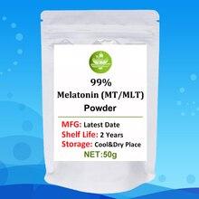 99% Melatonin (MT/MLT) Powder,Melatonin Sleep Powder,Melatonin 99% Powder,tui Hei Su,Anti-aging,Better Sleep,regulate Hormones