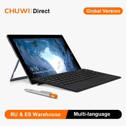 CHUWI UBook 11.6 pouces tablette Intel N4120 Quad Core 8GB 256GB Windows 10 OS tablettes double bande Wifi Bluetooth 5.0