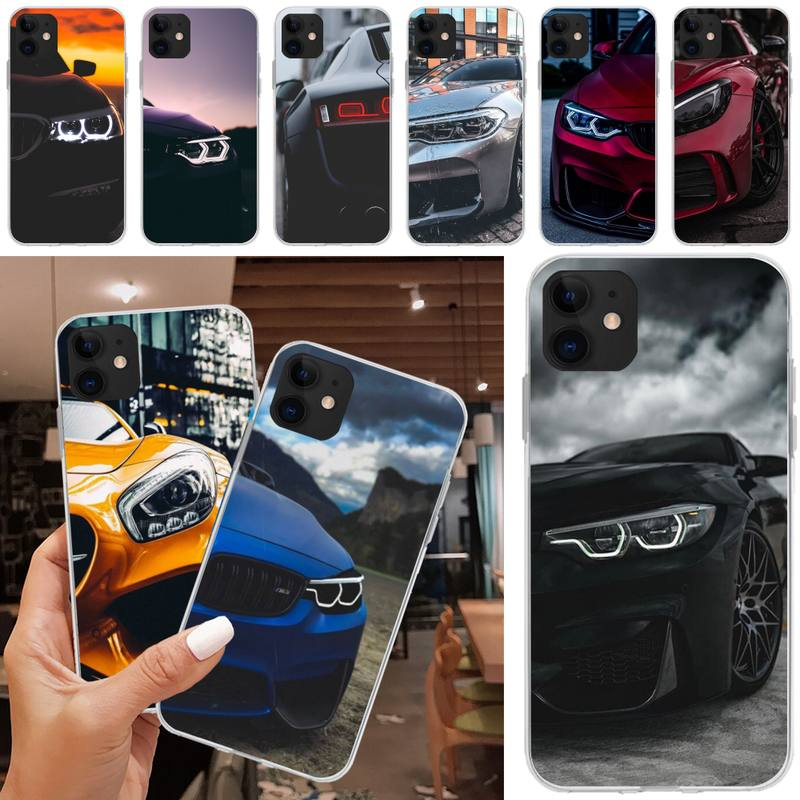 Mantin BMW sports car Phone Case Cover For iphone 5C 5 6 6s plus 7 8 SE 7 8 plus X XR XS MAX 11 Pro Max image