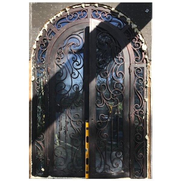 Hench Custom Made Steel Doors And  Windows Wrought Iron Door Handles