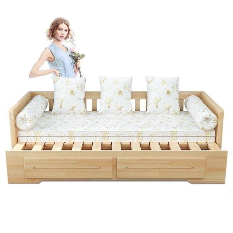 Meuble Maison Cama Plegable Copridivano Divano Home Puff Para Wooden Retro Set Living Room De Sala Furniture Mueble Sofa Bed