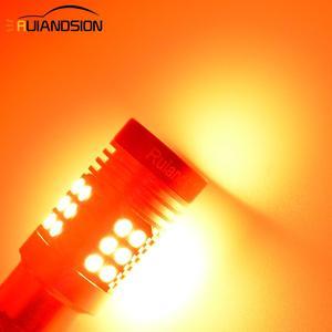 Image 5 - 2x  0.64A 8W LED Canbus BAZ15D BAY15D LED Bulb 1157 P21/5W R5W No polar Car Lights White Red Brake Lights Reverse Lamp 12V 24V